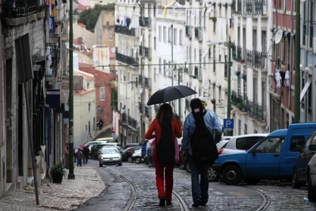 Mouraria, Lissabon, Portugal