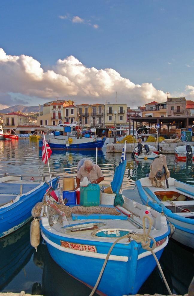 Oude haven van Retymnon