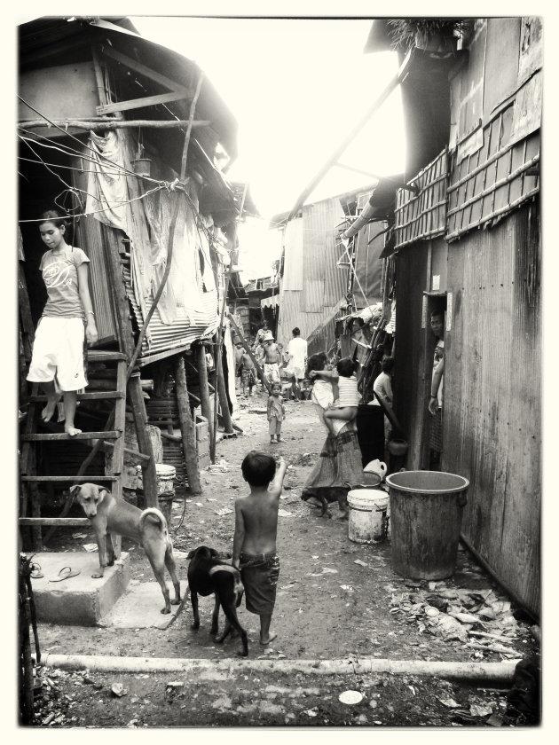 krottenwijk in Poipet