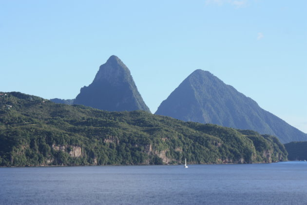 Pitons in St-Lucia
