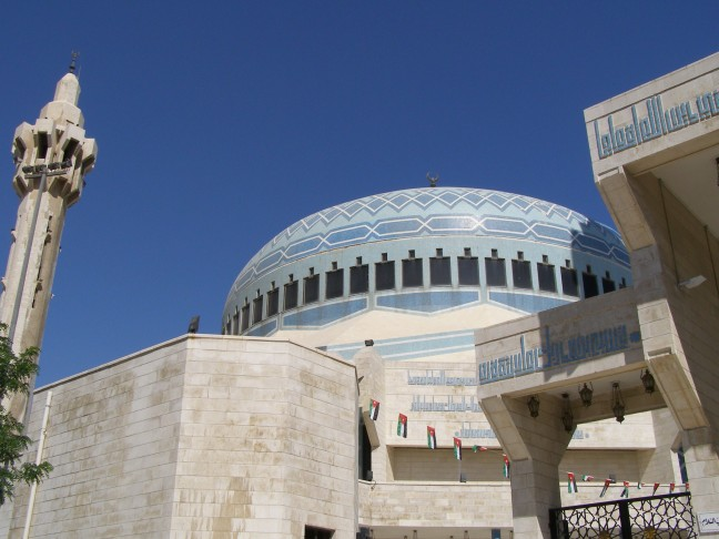 Blauwe moskee in Amman