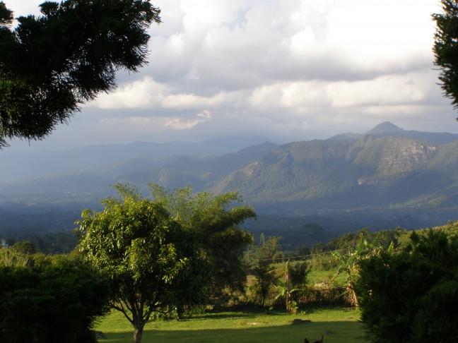 landschap Sumatra