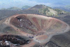Etna, Silvestri krater