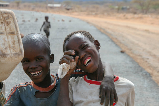 kinderen in isiolo