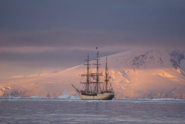 Zeilschip de Bark Europ