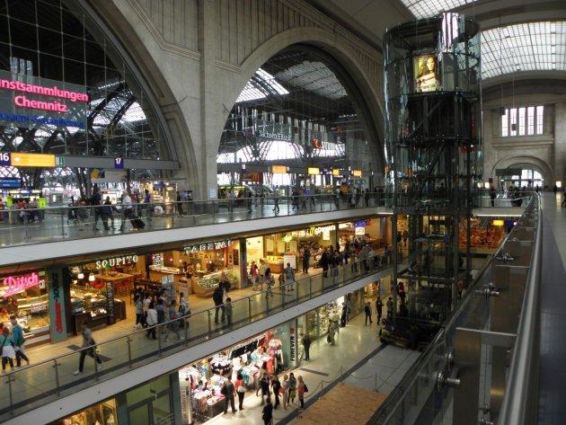 Centraal Staion Leizig (Hauptbahnhof Leipzig)