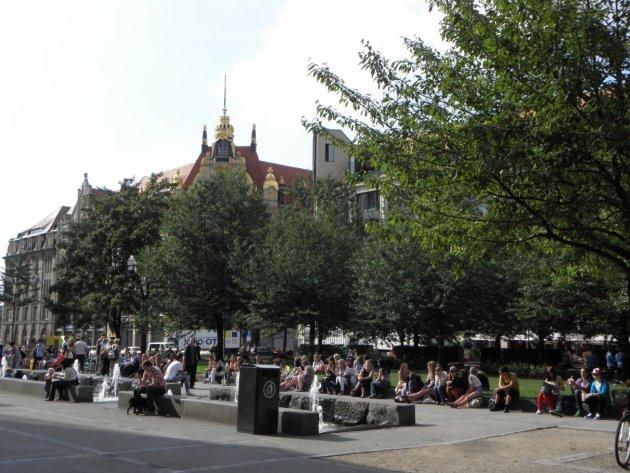 Centrum Leipzig.