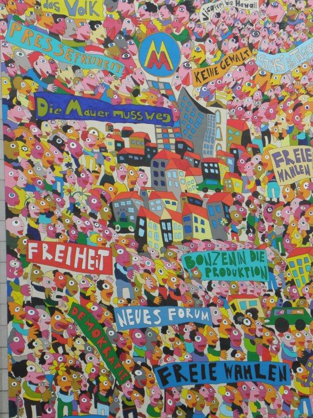 Muurschilderingen Leipzig