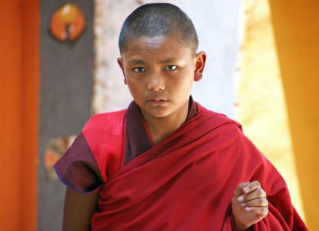 Ernstig feest in Thimpu