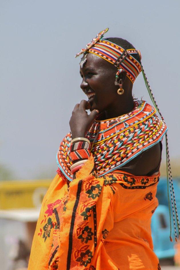 Keniase vrouw