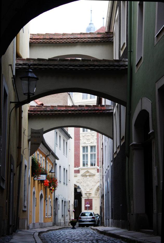 Straatje in Goerlitz