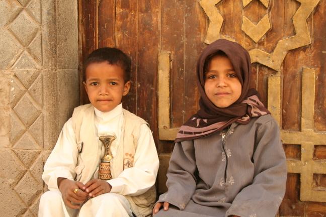 Kinderen in Rada'