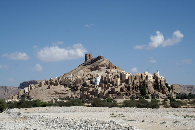 Vestingdorp in Wadi Hadramawt