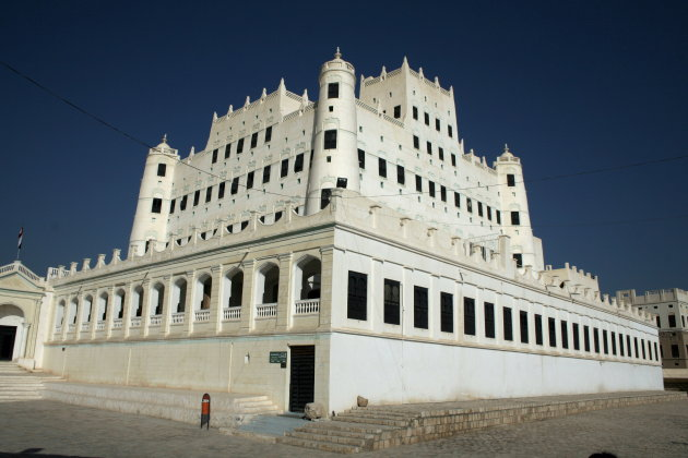 Paleis van de sultan in Seyun