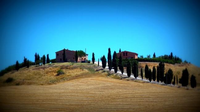Toscaans landschap. Omgeving Asciano