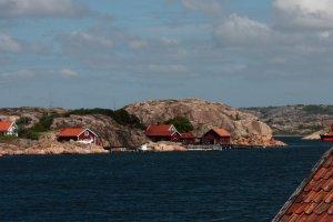 Scherenkust ten noorden van Göteborg
