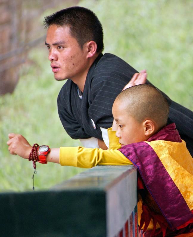 De nieuwe goeroe in Ngang Lhakang