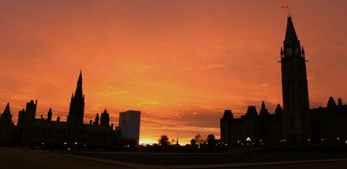 Sunset at Ottawa