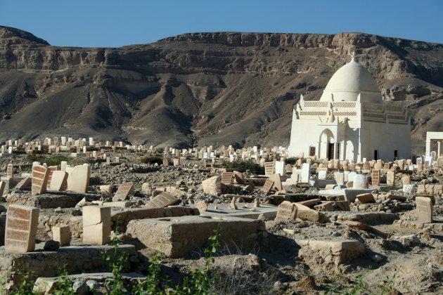 Begraafplaats bij Tarim