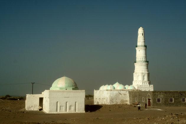 Moskee bij Al Makha