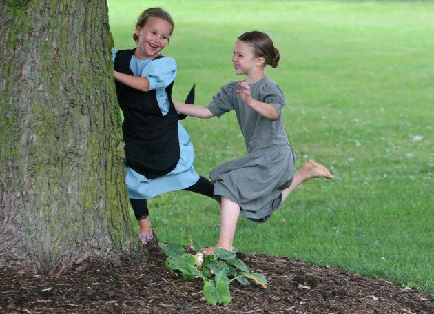 Amish-meisjes