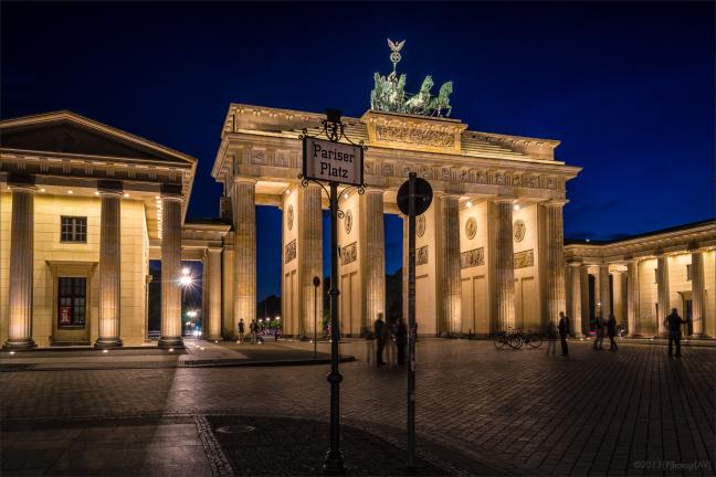 B-Tor am Pariser Platz