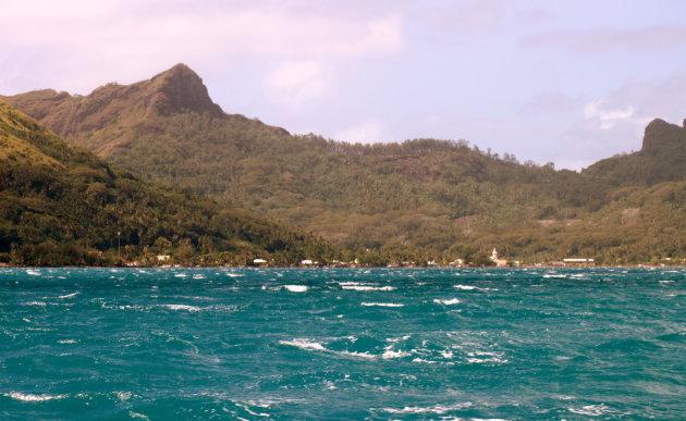 onstuimig zee