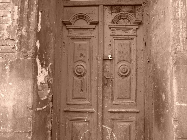 Typische deur in de Joodse wijk