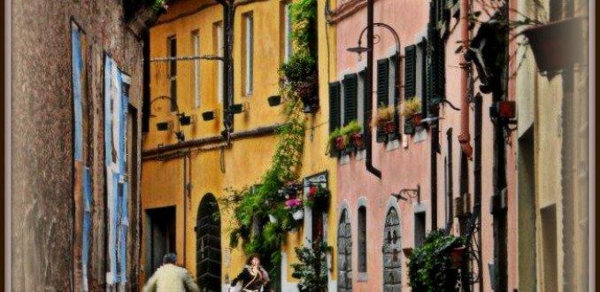 Straatje in Lucca