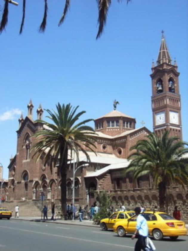 Kathedraal in Asmara
