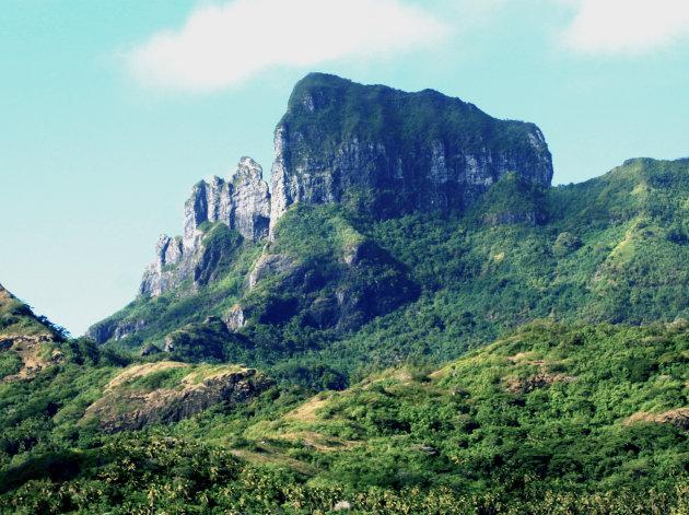 Een andere perspectief van Bora Bora
