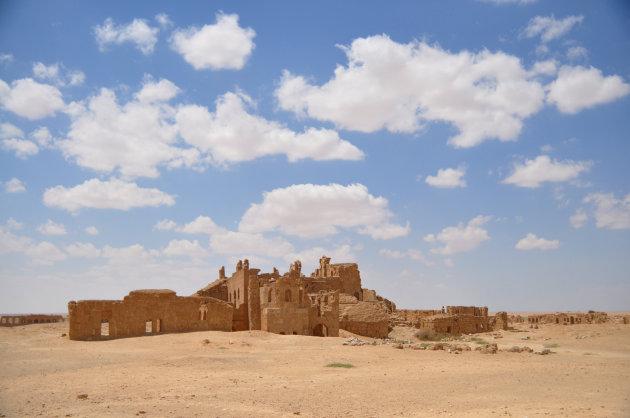 Rassafa dode stad in de woestijn