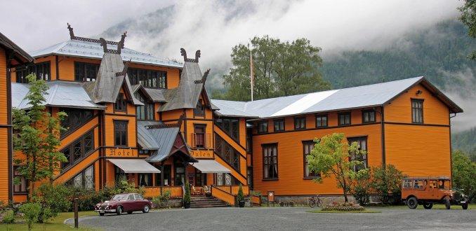 Sprookjes hotel in Dalen