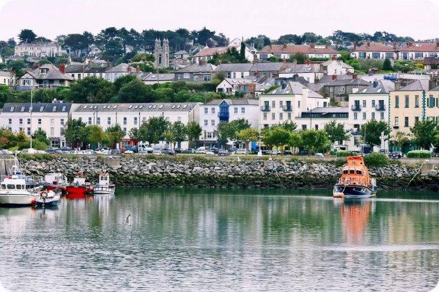 vissersdorp bij Dublin