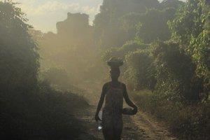 's morgens vroeg bij Tsingy de Bemaraha
