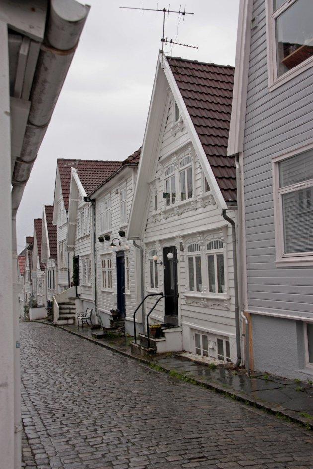 Houten huisjes in Stavanger