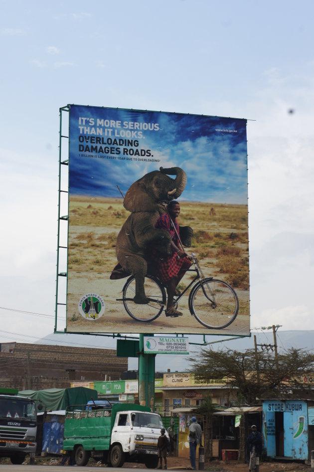 alternatieve waarschuwingsborden voor te zwaar verkeer