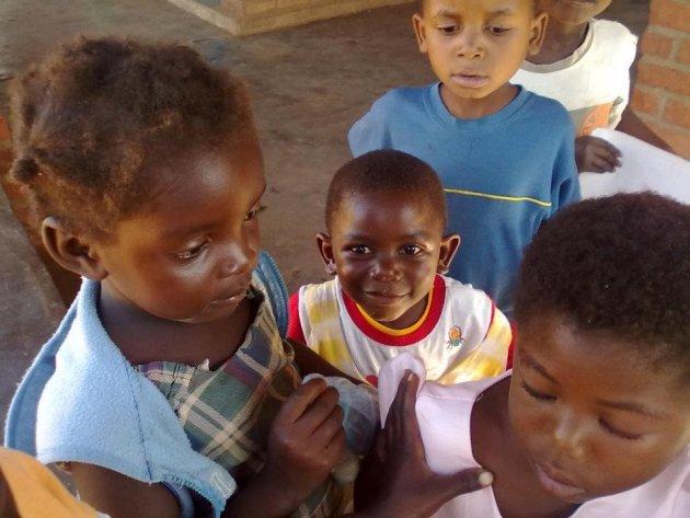 Kinderen bij YODEP