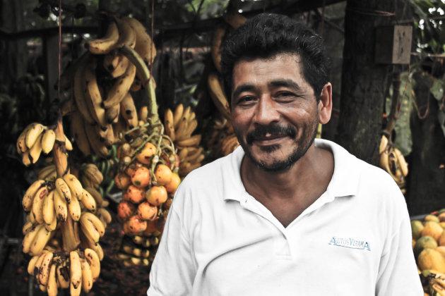 Bananenverkoper