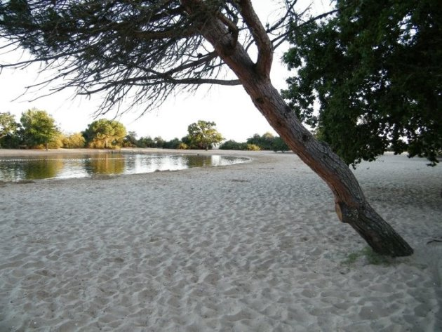 Klein strandje