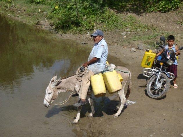 Water halen