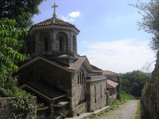 Kerkje in Belgrado