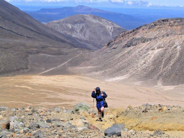 Wandelen tussen vulkanen bij de Tongariro Alpine Crossing