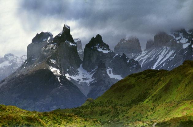 De Cuernos van Parque Nacional Torres del Paine