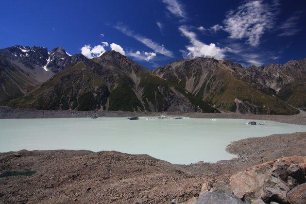 Nieuw Zeeland, vlakbij Mount Cook