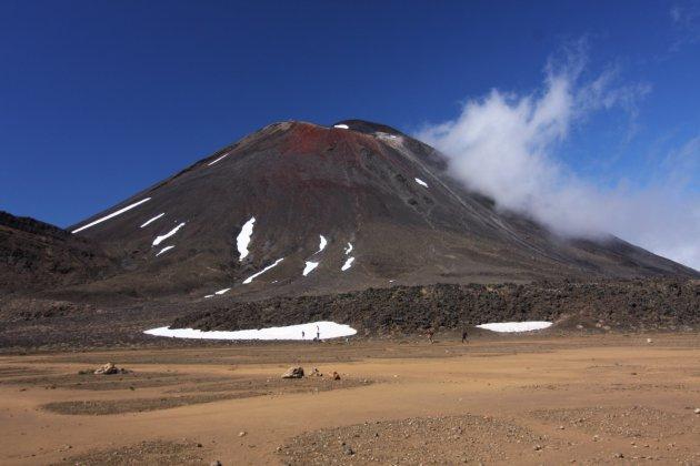 Vulkaan, Tongoriro crossing, Nieuw Zeeland