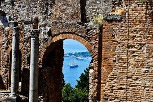 Doorkijk Taormina