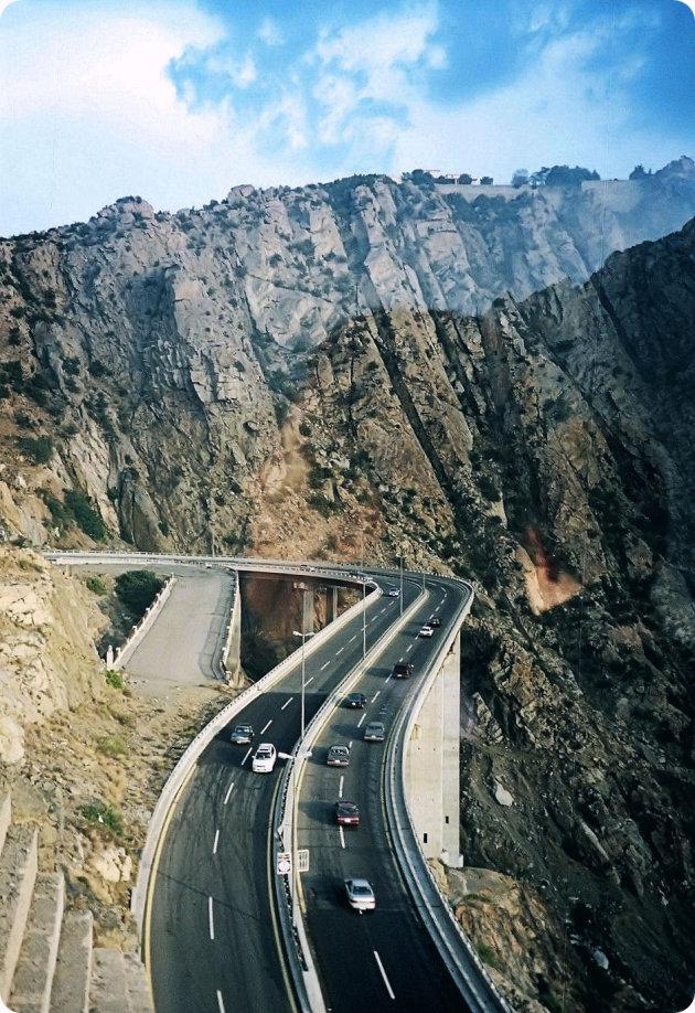 route 15 naar Taif