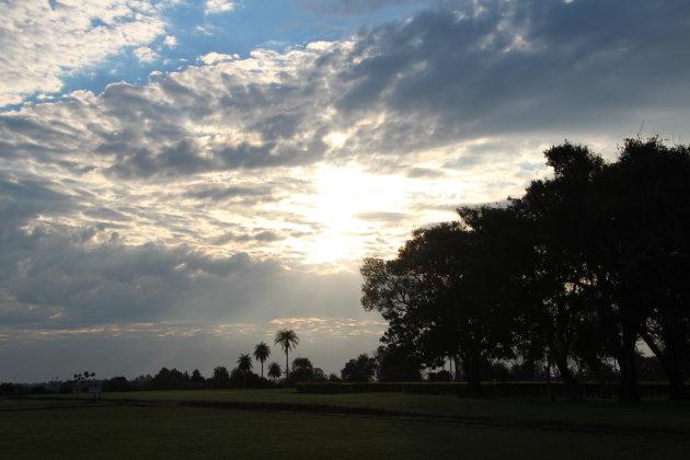Mooie luchten in Paraguay