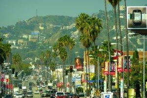 Straat in L.A.